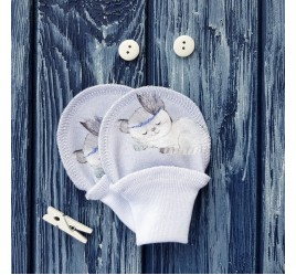 Антицарапки, котята на сиреневом