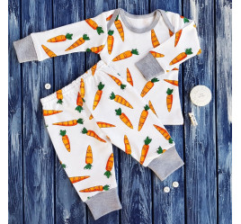 Пижамка, морковки