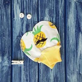 Антицарапки, рисунок ананасы
