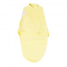 Конверт на липучке, желтый